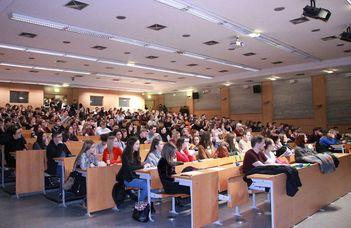 Több mint 400 érdeklődő az ELTE TáTK nyílt napján