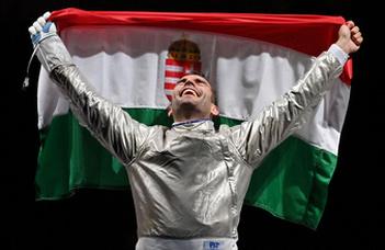 Szilágyi Áron megszerezte harmadik olimpiai aranyát