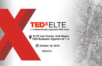 Zoom in!, vagyis Nagyíts rá! a mottója az ELTE első TEDx-programjának.